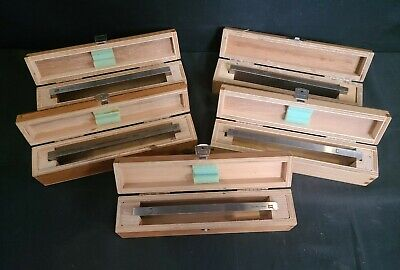 Hacker Instruments Hi Microtome Knife Blades Lot Of 5