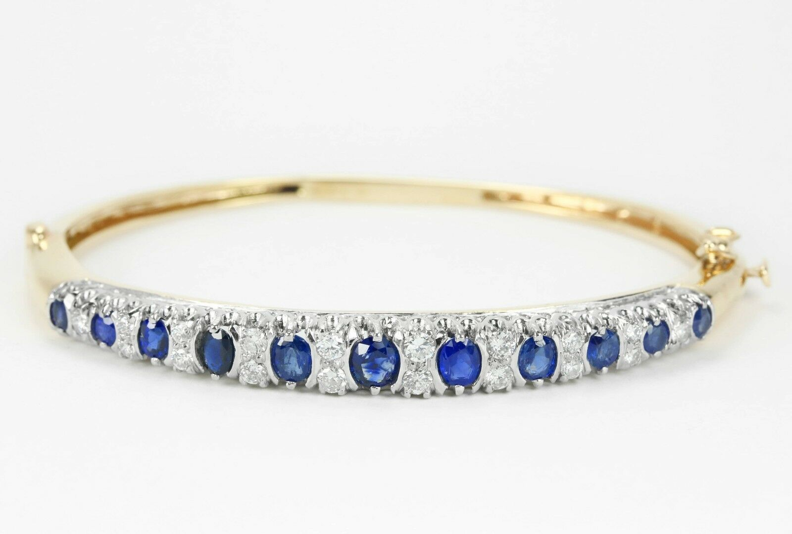 and bracelet diamond square sapphire all carat bracelets bangles bangle gold amoro white