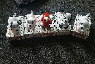 102 dalmations bundle winalot promotions disney small beanie plush collectable