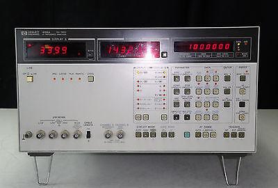 As-is - Agilent 4192a Lf Impedance Analyzer 5 Hz To 13 Mhz