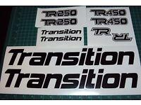 Transition TR250 Version 1,2,3,4 2010-2013 Frame Pivot Bearing Kit