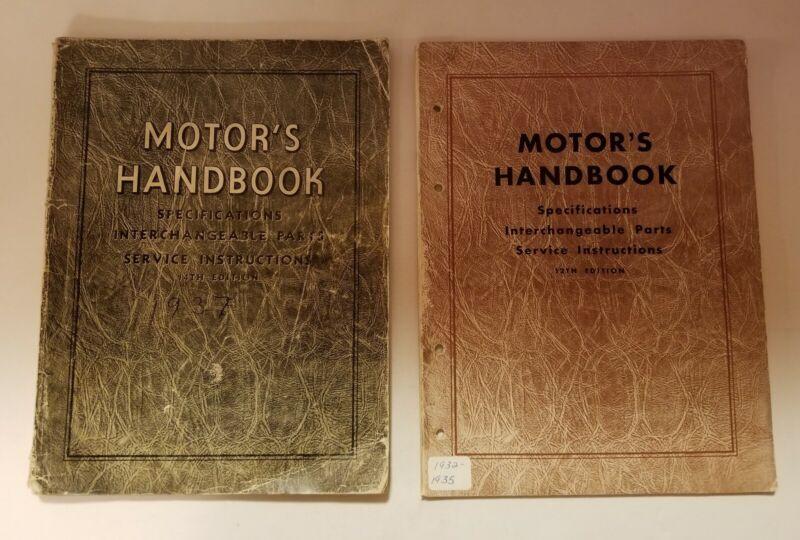 Vintage Lot Of 2 Motor