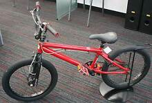 Mongoose red BMX Nerang Gold Coast West Preview