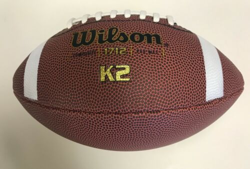 NEW Wilson K2 Composite Leather Football, PeeWee Size