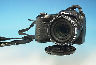 Nikon Coolpix L120 Digitalkamera camera mit Nikkor 3.1-5.8/4.5-94.5mm - (201986) online kaufen