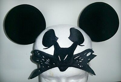 Disney Parks Jack Skellington Nightmare Before Xmas Mickey Ears Hat Halloween - Jack Disney Halloween