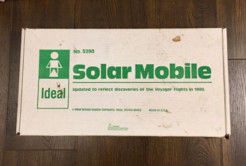 Vintage Ideal School Supply Solar Mobile No. 5290