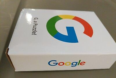 Brand New Google Search Engine  G  A Puzzle  Careers Promo Toy