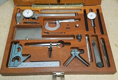 Mitutoyo - Starrett Precision Tool Kit - 1 Micrometer Indicator Dial Caliper