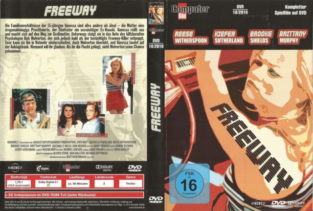 Freeway - Kiefer Sutherland, R. Witherspoon / Computer Bild-Edition 18/10 / DVD