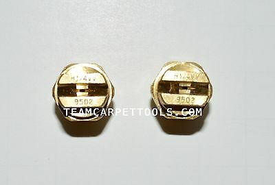 Carpet Cleaning Wand Replacement Brass 14 V-jets 9502 Vee Jets 2 Count