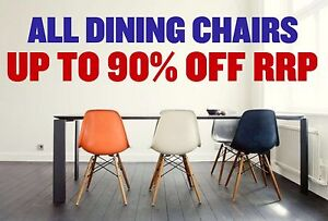 ALL DINING CHAIRS - UP TO 90% OFF RRP Granville Parramatta Area Preview