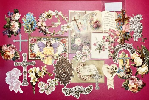 Anna Griffin Faithful DieCuts Easter Spring Embellishments - Retired from 2018