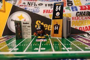 NFL Teenymates 2017 Series 6 Pittsburgh Steelers WR Antonio Brown Fig+Locker