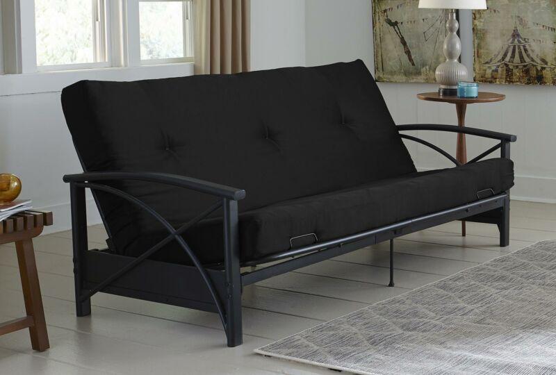"Sofa Cama Colchon Reemplazo Full Algodon Poliester y Microfibra Cojin 6"""