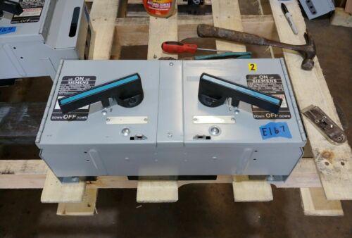 Siemens Ite V7e3612 30 & 60 Amp 600 Volt Fusible Vacu-break Panelboard Switch*