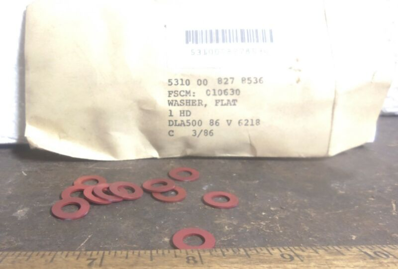 The Boeing Co. – Package of Aluminum Flat Washers - P/N: LD153-0011-0013 (NOS)