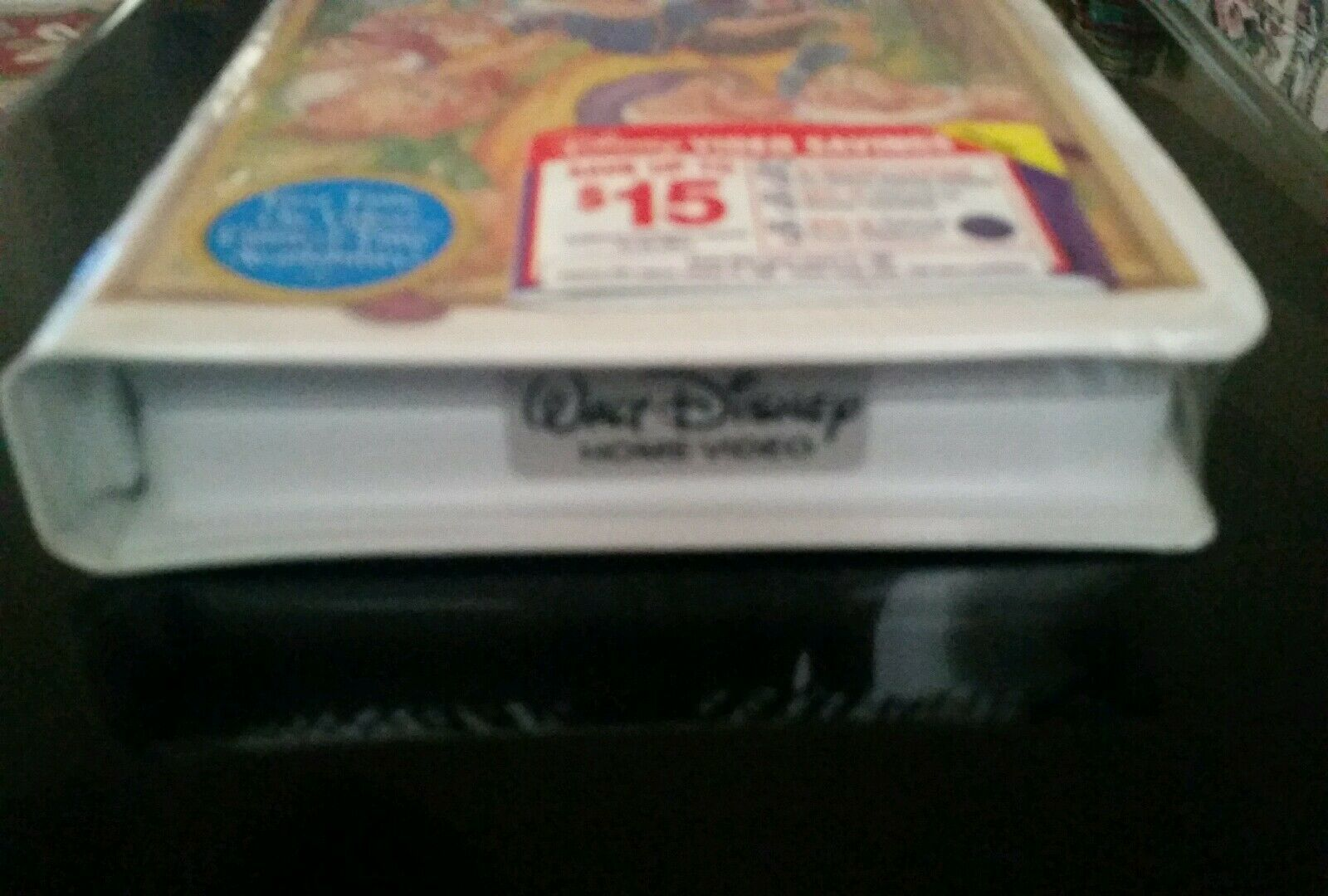 NEW SEALED Walt Disney Snow White And The Seven Dwarves VHS Stickers - $399.00