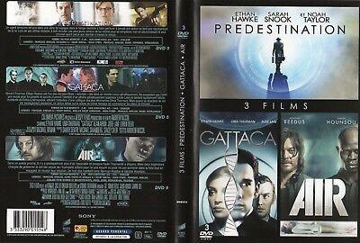 3 DVD - PREDESTINATION, GATTACA, AIR - 3 FILMS