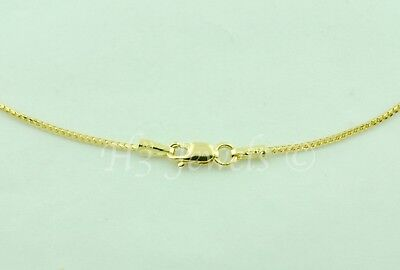 2.50 grams 14k Solid Yellow Gold Franco Chain Necklace  18 inches h3jewels #5439 14k Solid Franco Chain