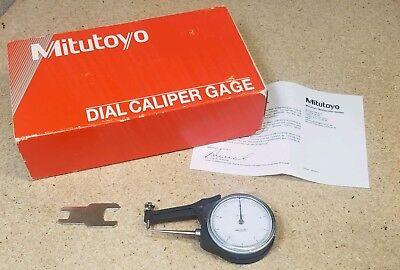 Mitutoyo No. 209-790 Dial Caliper .005 Graduations - 0 To .500 Range