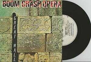 BOOM-CRASH-OPERA-GREAT-WALL-7-45-VINYL-RECORD-PIC-SLV-1986