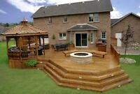 Fence & deck staining! Protect your wood from weather damage
