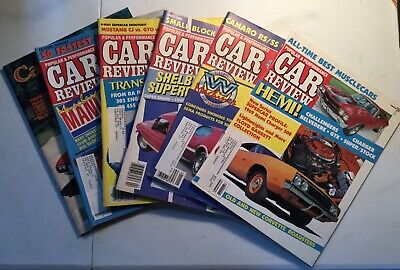 1985-86 Popular & Performance Car Review Magazines( 6 issues) Camaro,