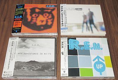 R.E.M. Japan PROMO issue CD x 4 set OBI Michael Stipe REM more listed MONSTER!