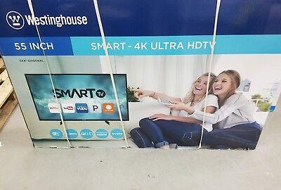 """WESTINGHOUSE 55"""" Ultra HD 4K Smart LED LCD Television TV HDTV WE55UDT108"""