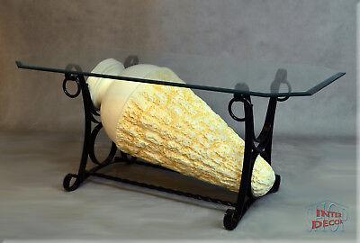Neuheit Designer Couchtisch ArtDeco Wohnzimmertisch Tisch Glastisch Luxusmöbel ()