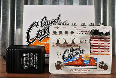 Electro-Harmonix EHX Grand Canyon Delay & Looper Guitar Effect Pedal Demo