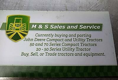 Am877525 John Deere 870 970 1070 Hyd Pump Rear