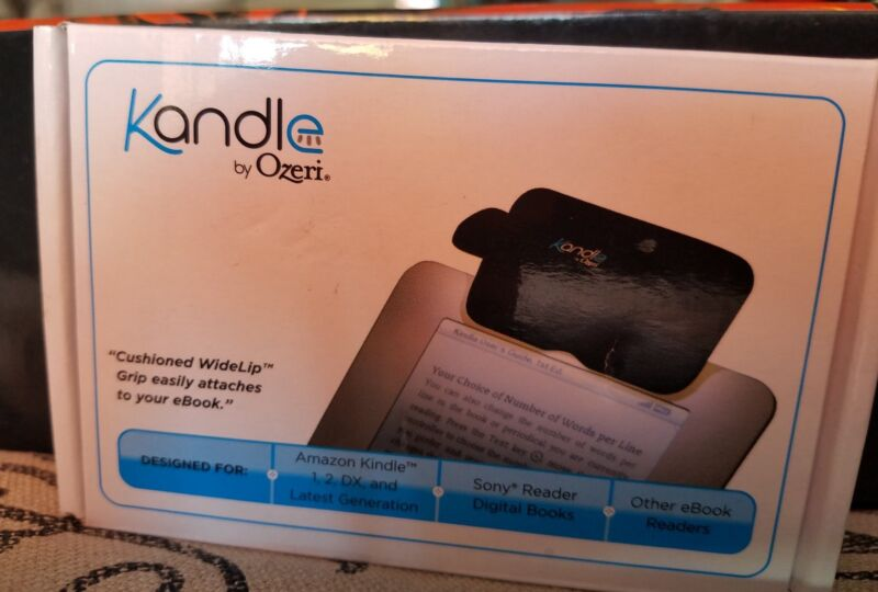 Ozeri Kandle LED Reading Light Designed for Books and Ereaders KA1A-B