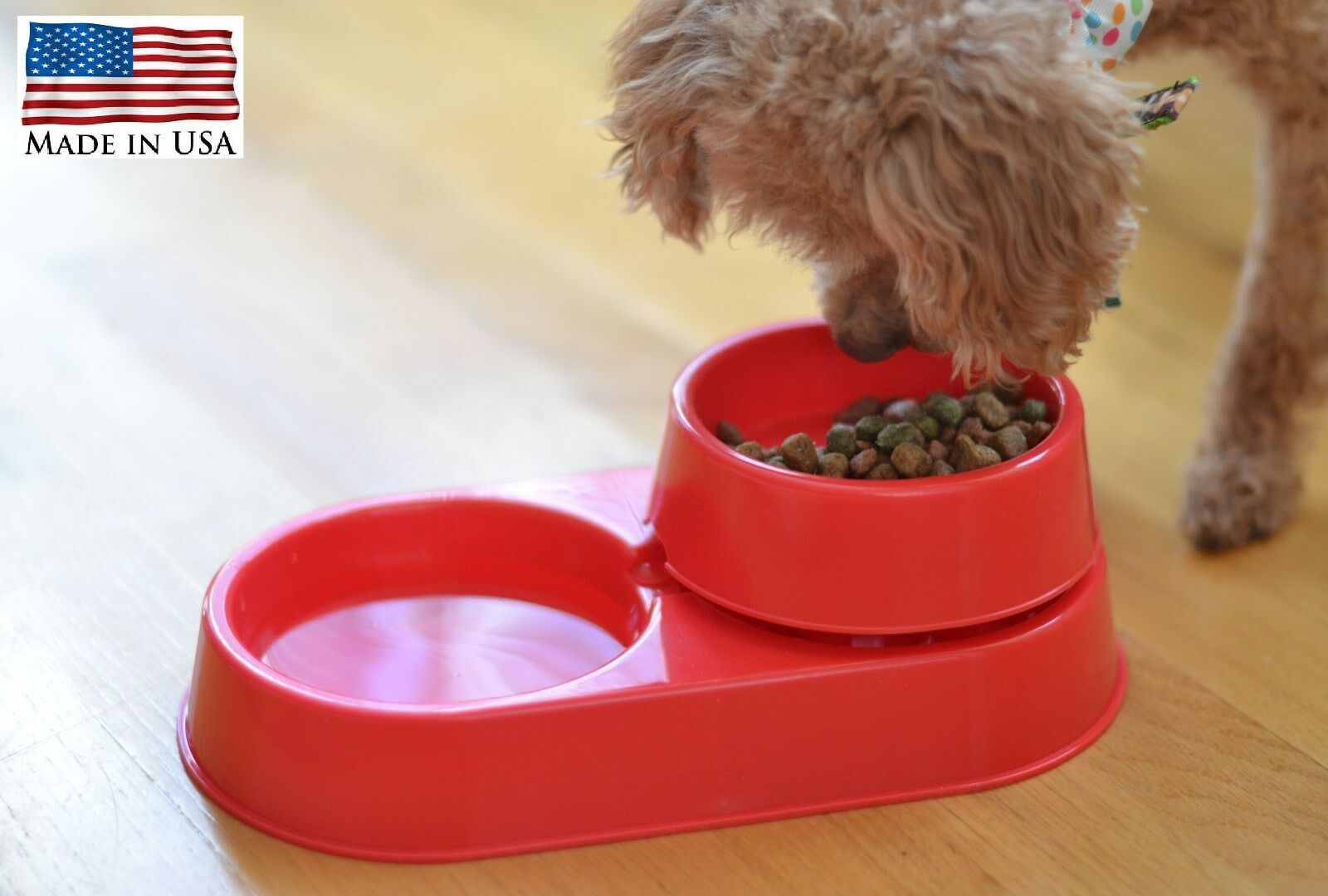 Ant Free Pet Food & Water Bowl Dish