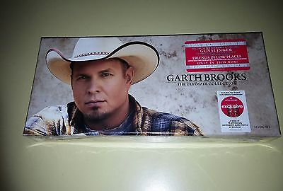 NEW GARTH BROOKS The Ultimate Collection GUNSLINGER  EXCLUSIVE 10 DISC BOX