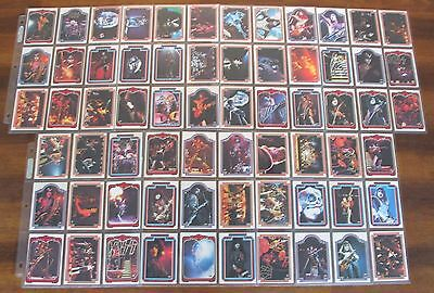Kiss Cards Complete Set 1978 Donruss Series 1 Trading Cards Bubble Gum b