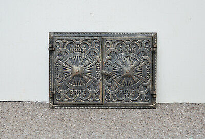 45 x 31.5 cm cast iron fire door clay bread oven doors pizza