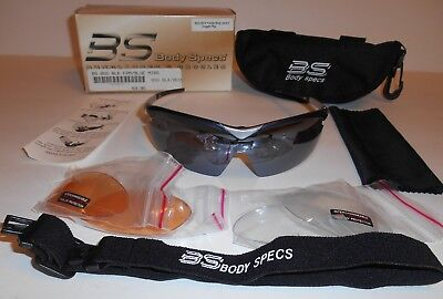 BS Body Specs 100% UV Protection Blue Lens Sunglasses & Goggles One Size