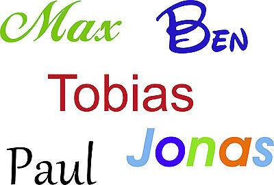 e - Zeichen - viele Größen und Farben - Name - ab 6 cm Höhe (Zeichen Tattoos)