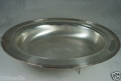 VINTAGE SILVER PLATE OVAL BOWL/DISH/CASSEROLE,ROGERS