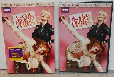 Absolutely Fabulous: 20th Anniversary Specials (DVD, 2012) RARE TV SERIES NEW