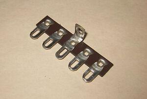 Terminal strip, 5 lug pole, phenolic with solder lugs