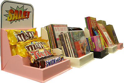 6 Multi-purpose Retailstorecounter Plastic Displaycandysnacksbookscddvd