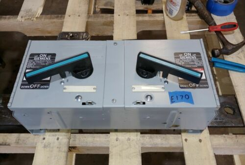 Siemens Ite V7e3611 30 Amp 600 Volt Fusible Vacu-break Panelboard Switch*