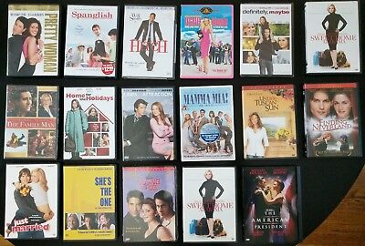 The Best Romanitc Comedy/Date Night/Chick Flick DVD Lot - New and Used -