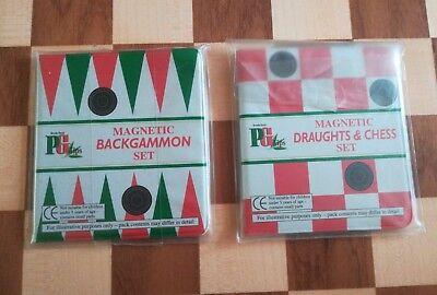 Brooke Bond PG Tips Tea Advertising  Magnetic Draughts, Chess & Backgammon