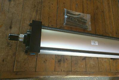 New Trd Mfg. Bimba 6 Bore 24 Stroke Dual End Air Cylinder 6x24 Nr Cyl-a-007470