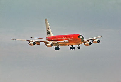 "Braniff Airways Boeing 707-138B ((8""x10"")) Print"