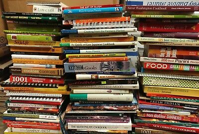 Mix Grill - Lot of 20 Cooking Baking Recipe Grilling Low-Fat Ingredient Books MIX-UNSORTED
